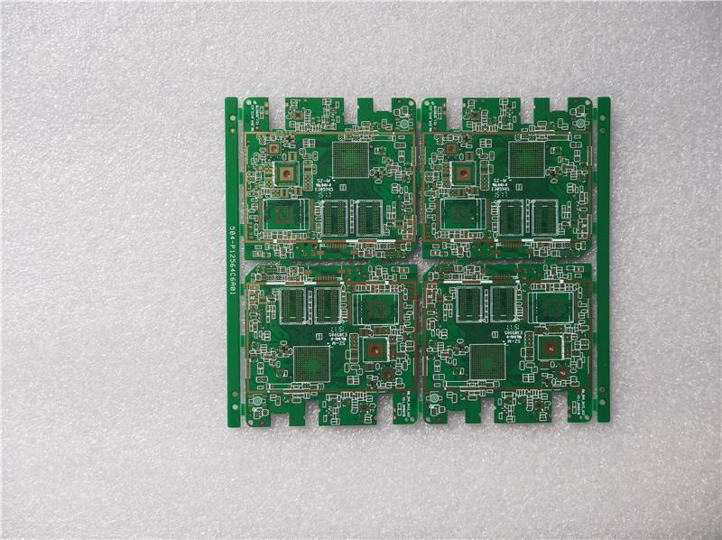 六层绿油沉金记录仪板